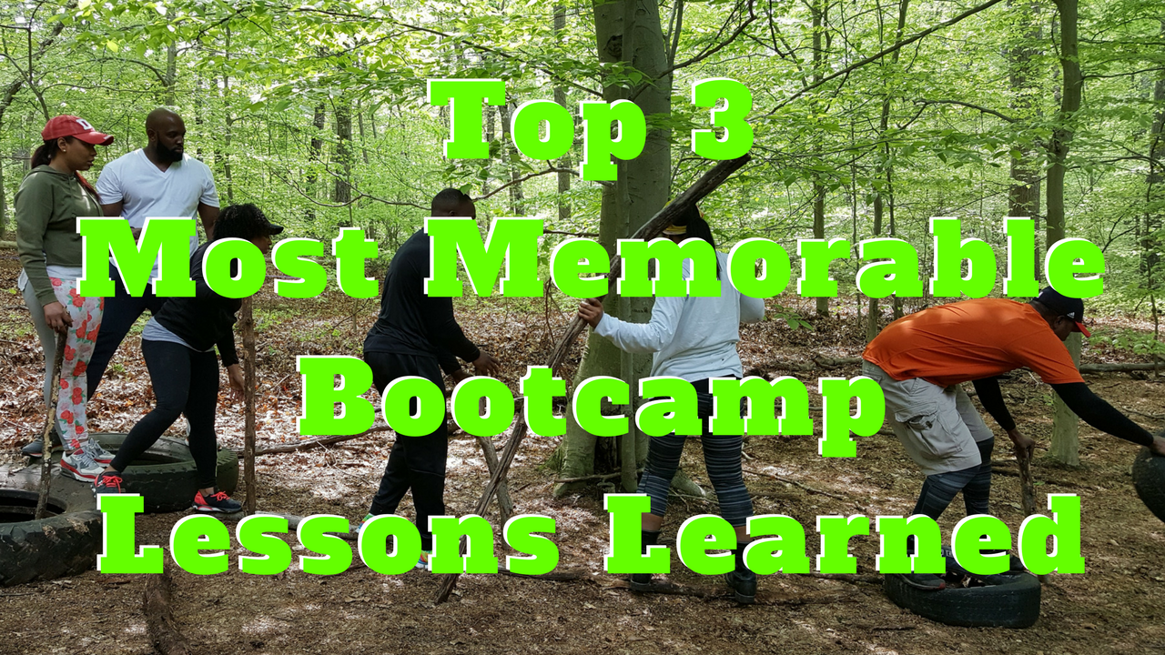 Top 3 Most Memorable Bootcamp Lessons Learned