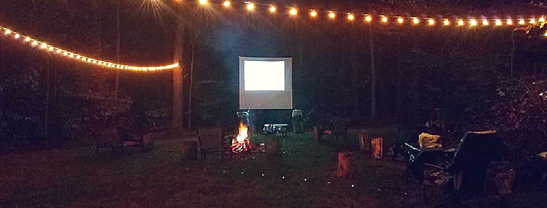 Date Night/Movie Night Under the Stars